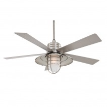 Minka Aire RainMan - Brushed Nickel Wet Finish