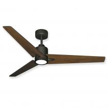 "56"" Reveal LED Ceiling Fan by TroposAir - DC Motor w/ LED Light - Oil Rubbed Bronze Finish"