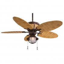 Minka Aire Shangri-La Ceiling Fan - Vinage Rust