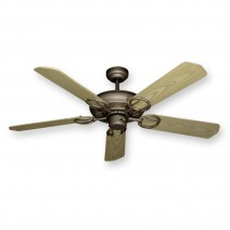Trinidad Ceiling Fan - Antique Bronze w/ Bleached Oak Blades