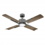 "Modern Forms 56"" Cervantes Ceiling Fan - FR-W1806-56L-GH/WG - Graphite / Weathered Grey"