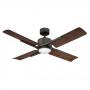 """Modern Forms 56"""" Cervantes Ceiling Fan - FR-W1806-56L-OB/DW - Oiled Bronze / Dark Walnut"""
