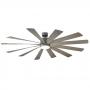 "80"" Modern Forms Windflower Ceiling Fan | FR-W1815-80L-GH/WG - Graphite w/ Weathered Gray"