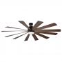 """80"""" Modern Forms Windflower Ceiling Fan   FR-W1815-80L-OB/DW - Oil Rubbed Bronze"""