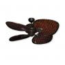 """48"""" Palm Breeze II Ceiling Fan - Oil Rubbed Bronze - Woven Bamboo Dark"""