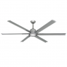 "TroposAir 72"" Titan II Ceiling Fan - Brushed Nickel - Optional LED Light (sold separately)"