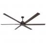 """TroposAir 84"""" Titan II Ceiling Fan - Oil Rubbed Bronze"""