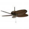 "Fanimation Belleria FP4320AZ1 - Aged Bronze shown w/ BPD4A 52"" Blades"