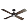 Captiva Ceiling Fan - Oil Rubbed Bronze - Distressed Hickory Blades