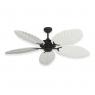 Coastal Air Ceiling Fan Oil Rubbed Bronze - 125 Arbor Blades Pure White