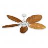 Coastal Air Ceiling Fan Pure White - 125 Arbor Blades Oak