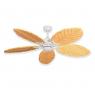 Coastal Air Ceiling Fan Pure White - 125 Arbor Blades Maple