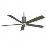 Minka Aire Clean Celine Fan - Grey Iron w/ Brushed Nickel