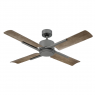"""56"""" Cervantes Ceiling Fan by Modern Forms - Graphite w/ Weathered Grey Blades - No Light"""