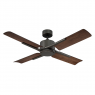 "56"" Cervantes Ceiling Fan by Modern Forms - Oiled Bronze w/ Dark Walnut - No Light"