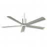 "60"" Minka Aire Clean - Polished Nickel"