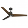 "52"" Reveal LED Ceiling Fan - Walnut Blades"