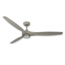 "60"" TroposAir Solara Ceiling Fan - Driftwood (shown w/ optional LED light)"