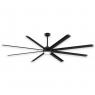 """96"""" Fanimation Stellar Ceiling Fan - MAD7998BLW - Black Blades & Light"""