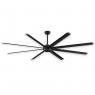 """96"""" Fanimation Stellar Ceiling Fan - MAD7998BLW - Black Blades"""