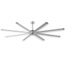 "96"" Fanimation Stellar Ceiling Fan - MAD7998SLW - Silver Blades"