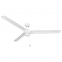 "72"" Troposair Tornado Outdoor Ceiling Fan - Pure White"