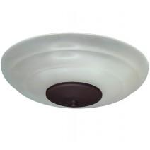 FL171 White Scavo (shown with Oil Rubbed Bronze bottom)