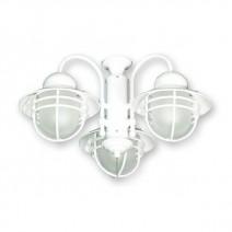 FL362PW Nautical Outdoor Fan Light - Pure White