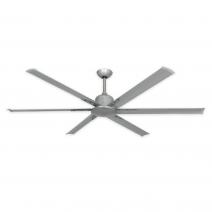 """72"""" Titan II Ceiling Fan by TroposAir - Brushed Nickel"""