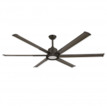 """72"""" Titan II Ceiling Fan by TroposAir - Shown with LED Array Light (Sold Separately)"""