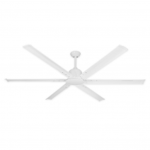 """72"""" TroposAir Titan II Ceiling Fan - Pure White"""