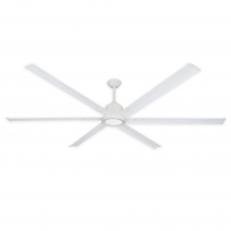 """84"""" TroposAir Titan II - Pure White - Shown with LED Array Light (sold separately)"""
