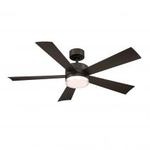 """52"""" Wynd Ceiling Fan - Modern Forms FR-W1801-52L-BZ"""