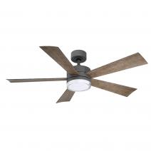 """52"""" Wynd Ceiling Fan - Modern Forms FR-W1801-52L-GH/WG"""