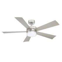 """52"""" Wynd Ceiling Fan - Modern Forms FR-W1801-52L-SS - Stainless Steel"""