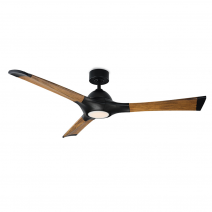 """60"""" Modern Forms Woody Ceiling Fan / FR-1814-60L-MB/DK"""