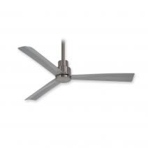 "44"" Minka Aire Simple Ceiling Fan - F786-BNW - Brushed Nickel Wet"