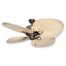 Palm Bay Ceiling Fan - Antique Brass