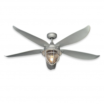 St. Augustine Ceiling Fan - Galvanized Painted Finish