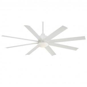 Minka Aire Slipstream Flat White