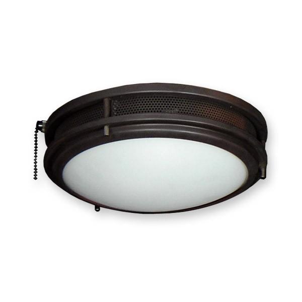 Vented low profile contemporary ceiling fan light kit standard sockets fl164orb low profile fan light kit oil rubbed bronze aloadofball Image collections