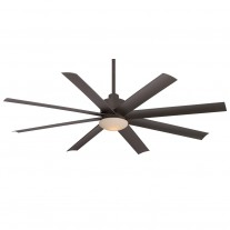 """65"""" Minka Aire Slipstream Ceiling Fan - F888-ORB Oil Rubbed Bronze - UL Wet Rated"""