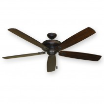 "Tiara 750 Series 72"" Ceiling Fan - Dark Walnut Blades"