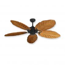 Coastal Air Ceiling Fan Oil Rubbed Bronze - 125 Arbor Blades Oak