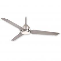 "54"" Java LED Ceiling Fan - F753L-BNW - Brushed Nickel Wet"
