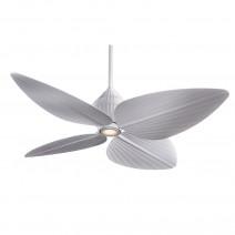 Gauguin Ceiling Fan by Minka Aire - Flat White Tropical Fan