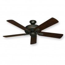 "Meridian Ceiling Fan Oil Rubbed Bronze w/ 52"" Distressed Hickory Blades"