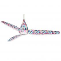 """60"""" Minka Aire Tear Ceiling Fan - F831L-FLR - Flower Pattern"""