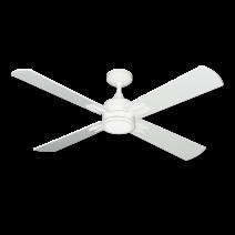"""TroposAir Captivia 52"""" Ceiling Fan - Pure White"""