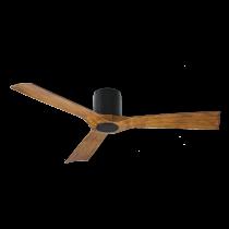 Modern Forms Aviator - Matte Black w/ Distressed Koa - FH-W1811-54L-MB/DK